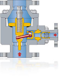 pump protection valves type tdl