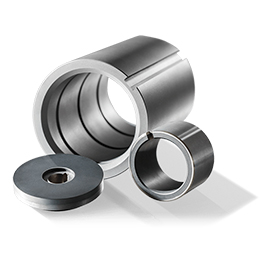 Carbon slide bearings