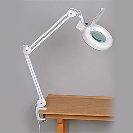 fluorescent illuminated magnifier
