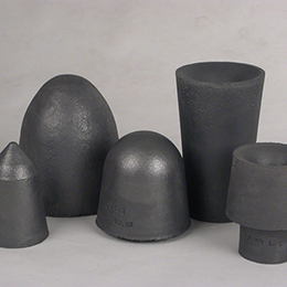 graphite-fireclay stoppers and nozzles