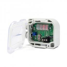 contact temperature sensor with display