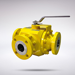 MULTIWAY TRUNNION MOUNTED BALL VALVES