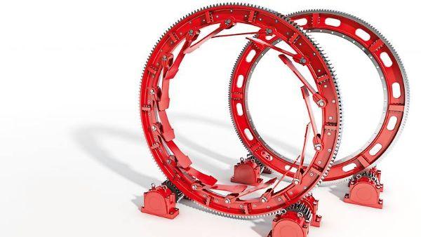 Segmented girth gears