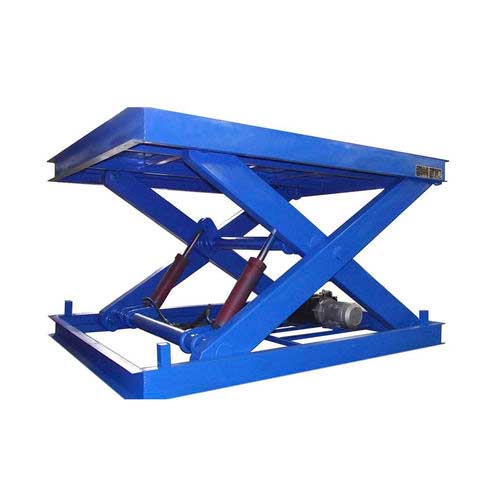 Scissor lift table / hydraulic / stationary SJG2