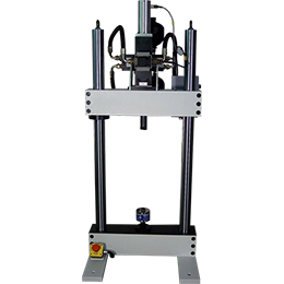 Servo-hydraulic fatigue test machine