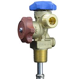 refrigerant double phase valve
