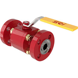 bolted side entry high pressure ball valves
