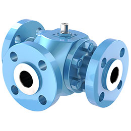 multiways floating ball valve