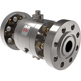 side-entry ball valve