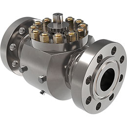 top-entry ball valve