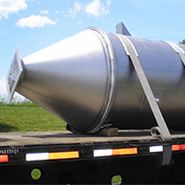 Custom Fabrication Of Stainless Steel Bins & Hoppers