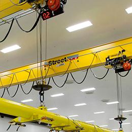 underhung cranes - underslung cranes