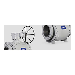 trunnion mounted - high pressure ball valves