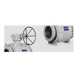 trunnion mounted - high pressure ball valves