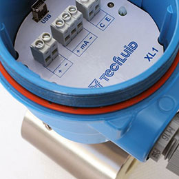 xl1 converter for electromagnetic flowmeters