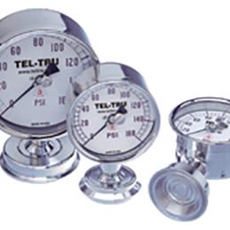 food and dairy sanitary pressure gauges