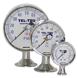 pharma line sanitary pressure gauges