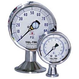 Sanitary pressure gauges