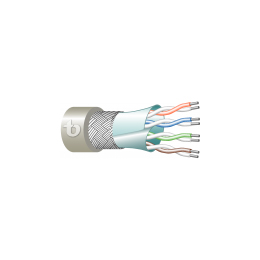 Computer LAN Cat.5 4x2x26/7 AWG SF/UTP Tactical Applications FR-PU/FR-PU