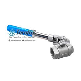Spring return ball valves - eb-210dsrh