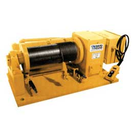 Custom Industrial Electric Winches
