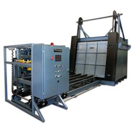 front loading manipulator box furnaces
