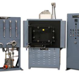 hydrogen atmosphere heat treating furnace