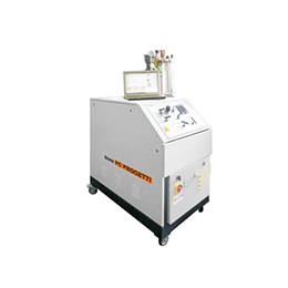 cryogenic temperature gas test benches - model skmm-100-cryo