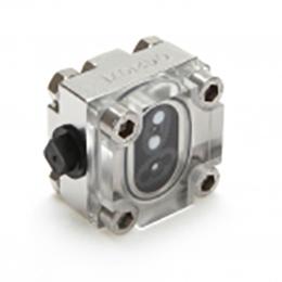 metra-clear oval gear pd flow meter