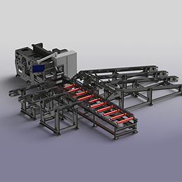 Modular transverse handling systems