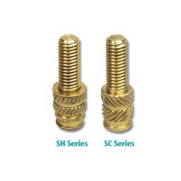 SH & SC Series: Threaded Studs for Plastics