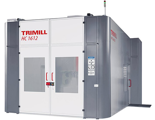 4 Axis Horizontal Milling Machine with Rotary Table HC 1612
