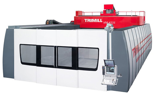 5 Axis vertical Milling Machine with Changeable Head VM 4535