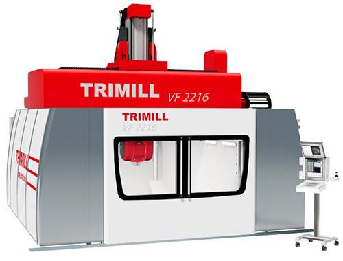 5 Axis vertical Milling Machine with Fixed Table VF 2216