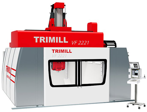 5 Axis vertical Milling Machine with Fixed Table VF 2221