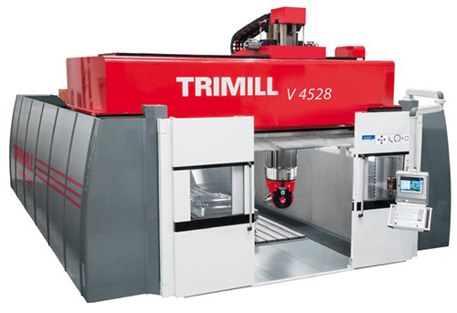 5 Axis with Fixed Table for Finishing V 4528