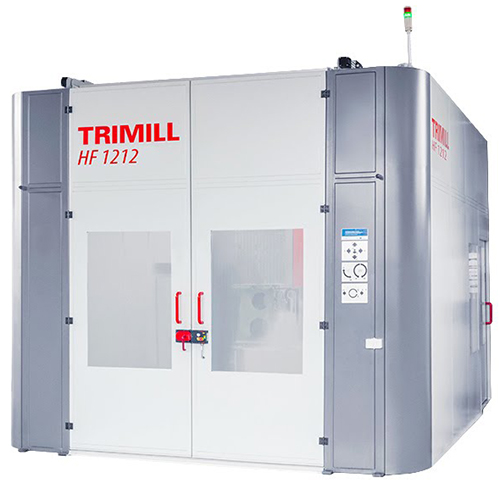 7 Axis Horizontal Milling Machine with rotary-movable table HF 1212