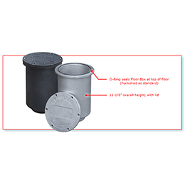 valves - valve accessories - sealed floor boxes