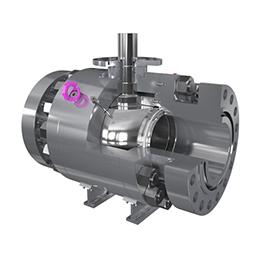 ball valves - trunnion