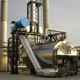 Conventional firetube steam boiler SMS