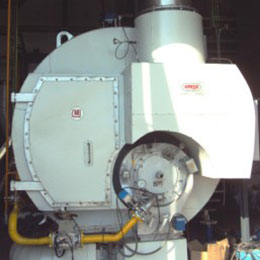 Mixed type steam boiler CMS-CR