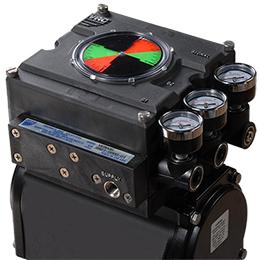vi model pneumatic valve positioner
