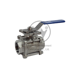 Floating Type Ball Valves VW-34T/S/B
