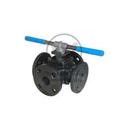 Multiple Way Flanged Ball Valves K-608