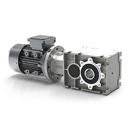 RO2 Series-2-stage in-line bevel helical gearboxes