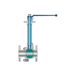 Cryogenic split-body ball valves