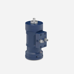 Hydrox by-pass hydraulic actuator