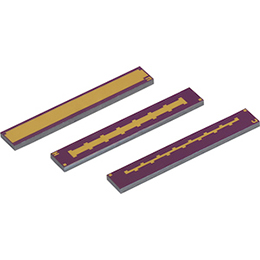 thin film bar mos capacitors