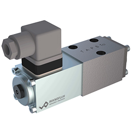 Solenoid operated spool valve-b-4-4