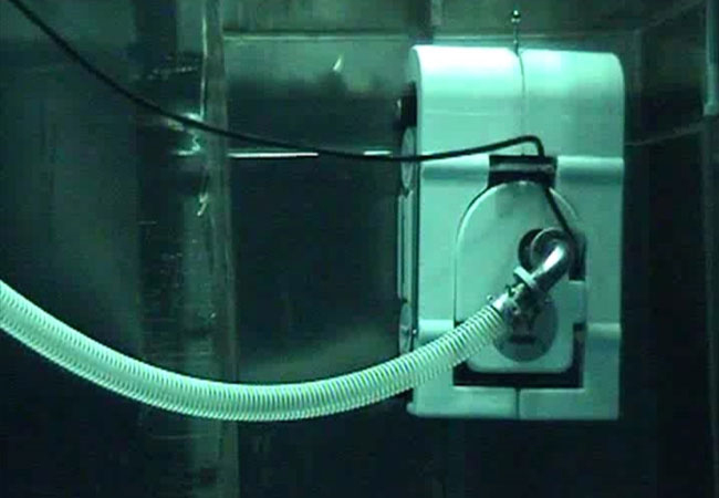 Cleaner for Reactor tanks in Nuclear Power plants U-DEC